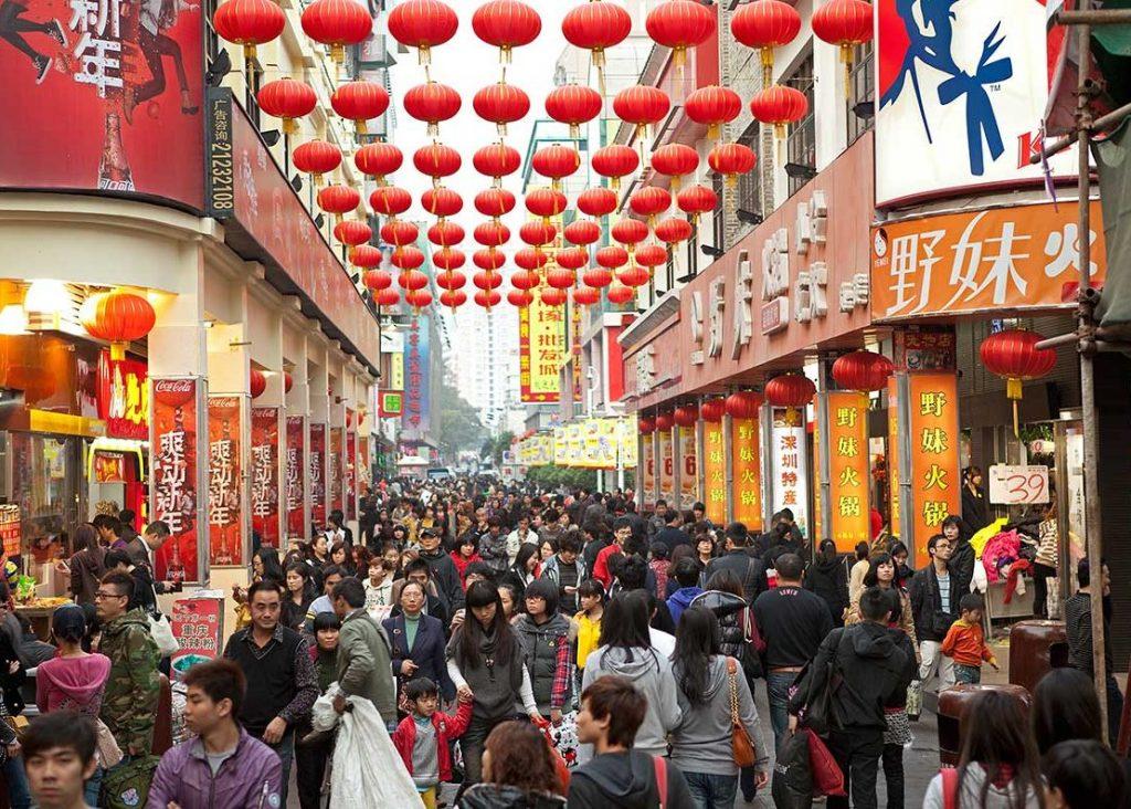 ตลาดนำเข้าสินค้าจากจีน